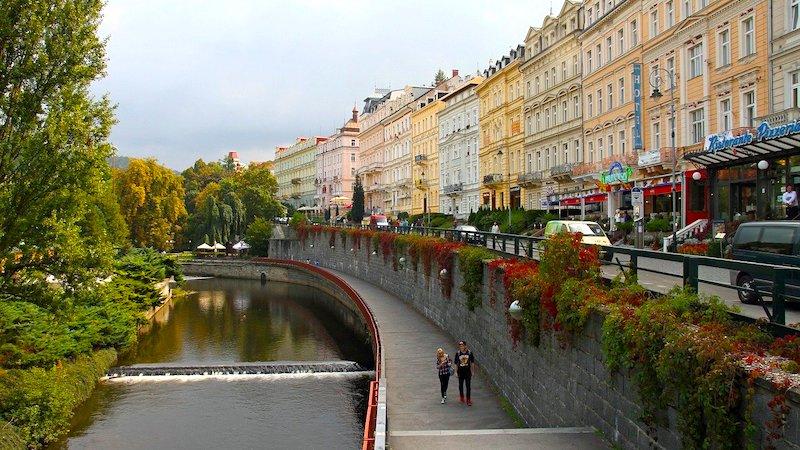 Die Altstadt von Karlsbad