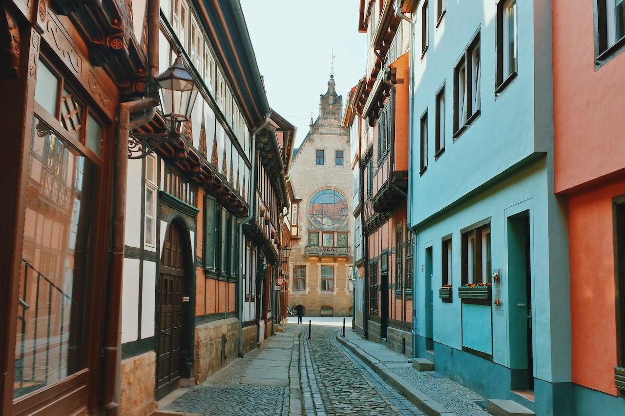 Mittelalterliches Quedlinburg